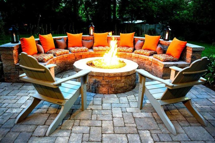 Outdoor Fire Pits-Euless TX Professional Landscapers & Outdoor Living Designs-We offer Landscape Design, Outdoor Patios & Pergolas, Outdoor Living Spaces, Stonescapes, Residential & Commercial Landscaping, Irrigation Installation & Repairs, Drainage Systems, Landscape Lighting, Outdoor Living Spaces, Tree Service, Lawn Service, and more.